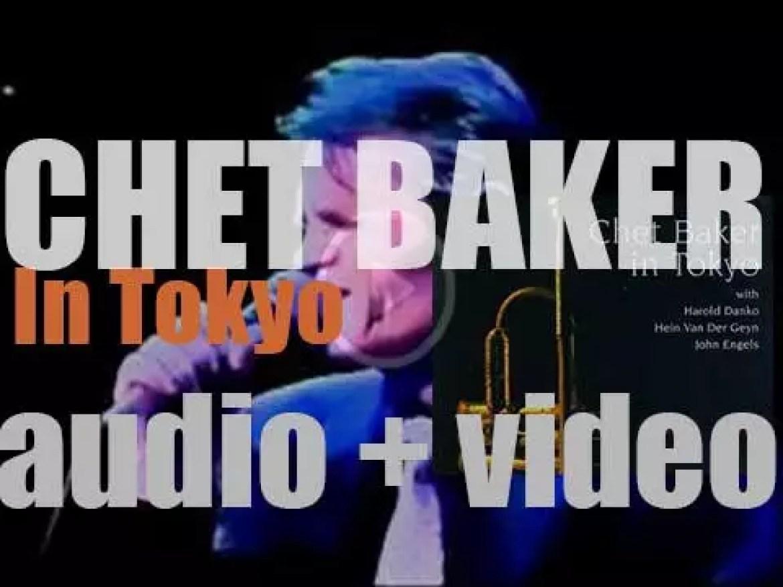 Chet Baker records 'Chet Baker in Tokyo' (1987)