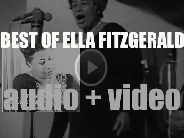 We All remember Ella Fitzgerald. 'Hello Ella'