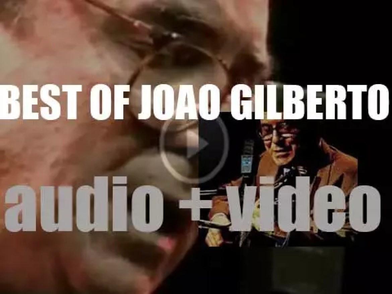 We remember Joao Gilberto. 'Hey João'