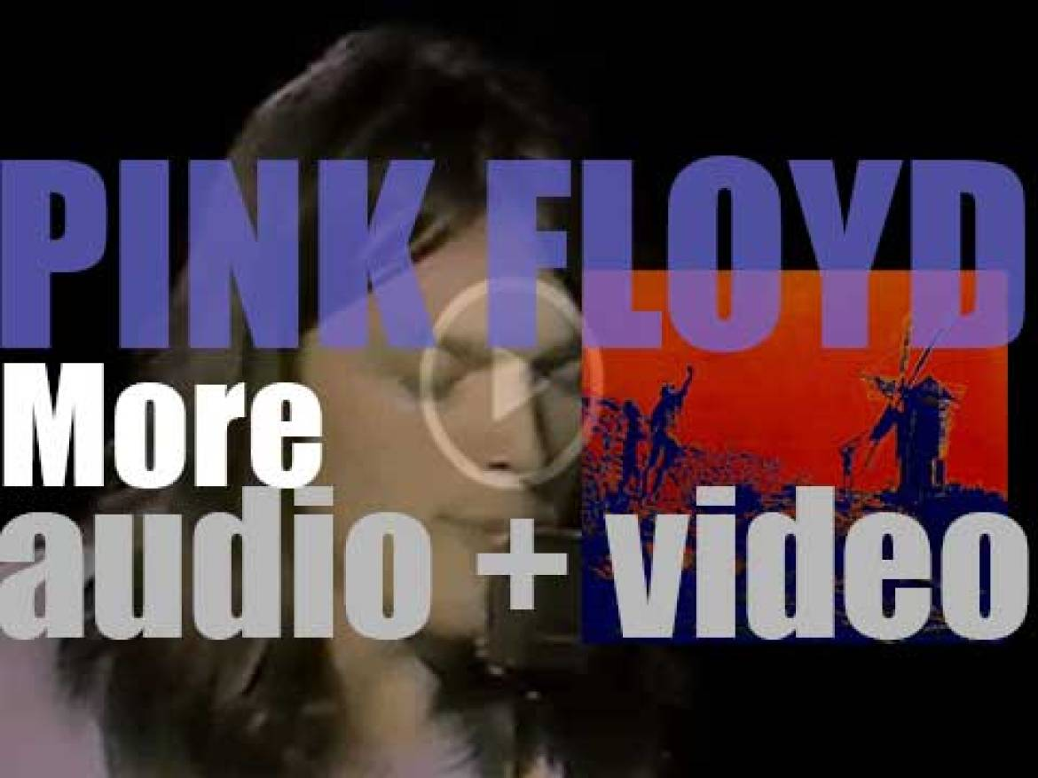 Pink Floyd release 'More,' their third album and Original Soundtrack of the film of the same name (1969)