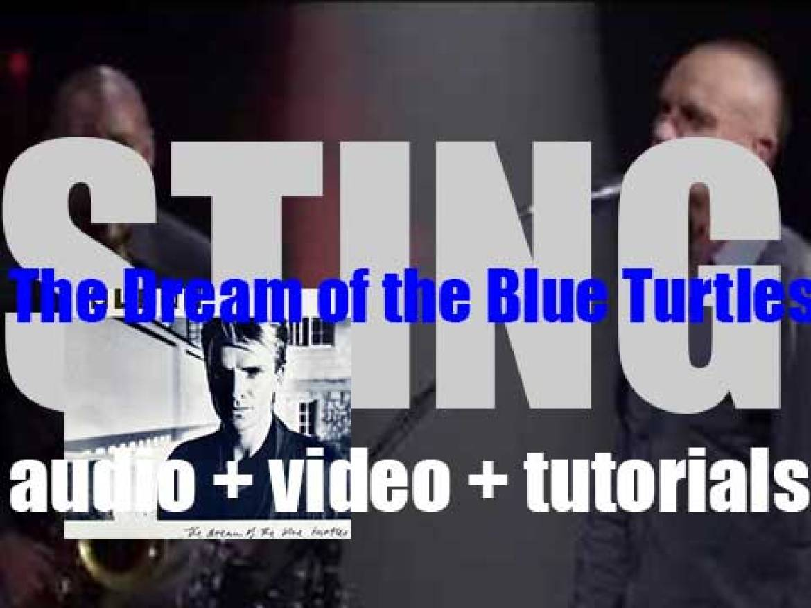 Sting releases his first solo album : 'The Dream of the Blue Turtles' featuring 'If You Love Somebody Set Them Free and 'Russians' (1985)
