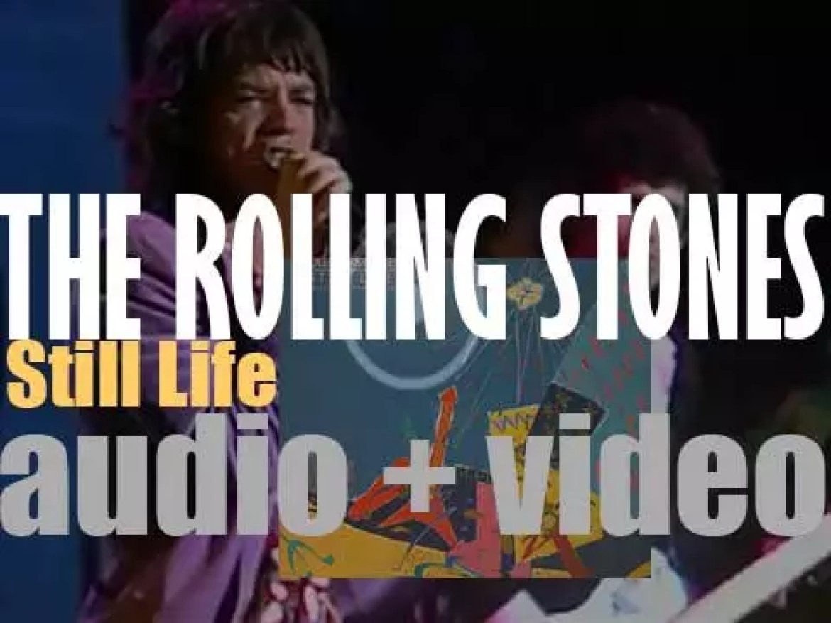 The Rolling Stones release 'Still Life,' a live album recorded during their previous year American Tour (1982)