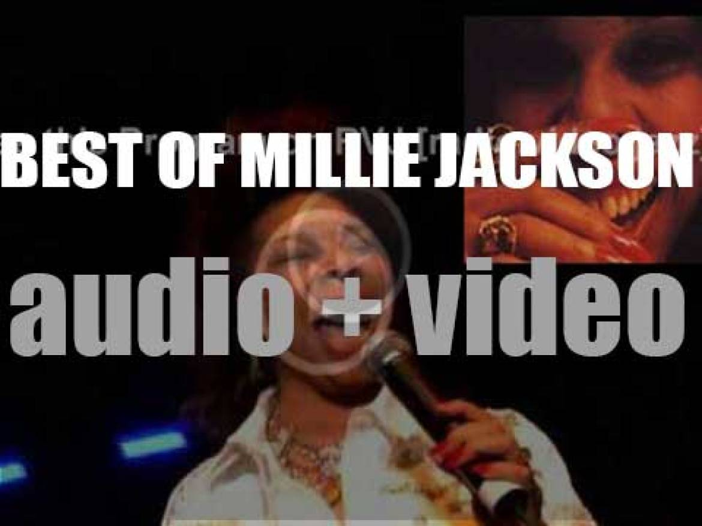 Happy birthday Millie Jackson. 'Loving Her Is Right'