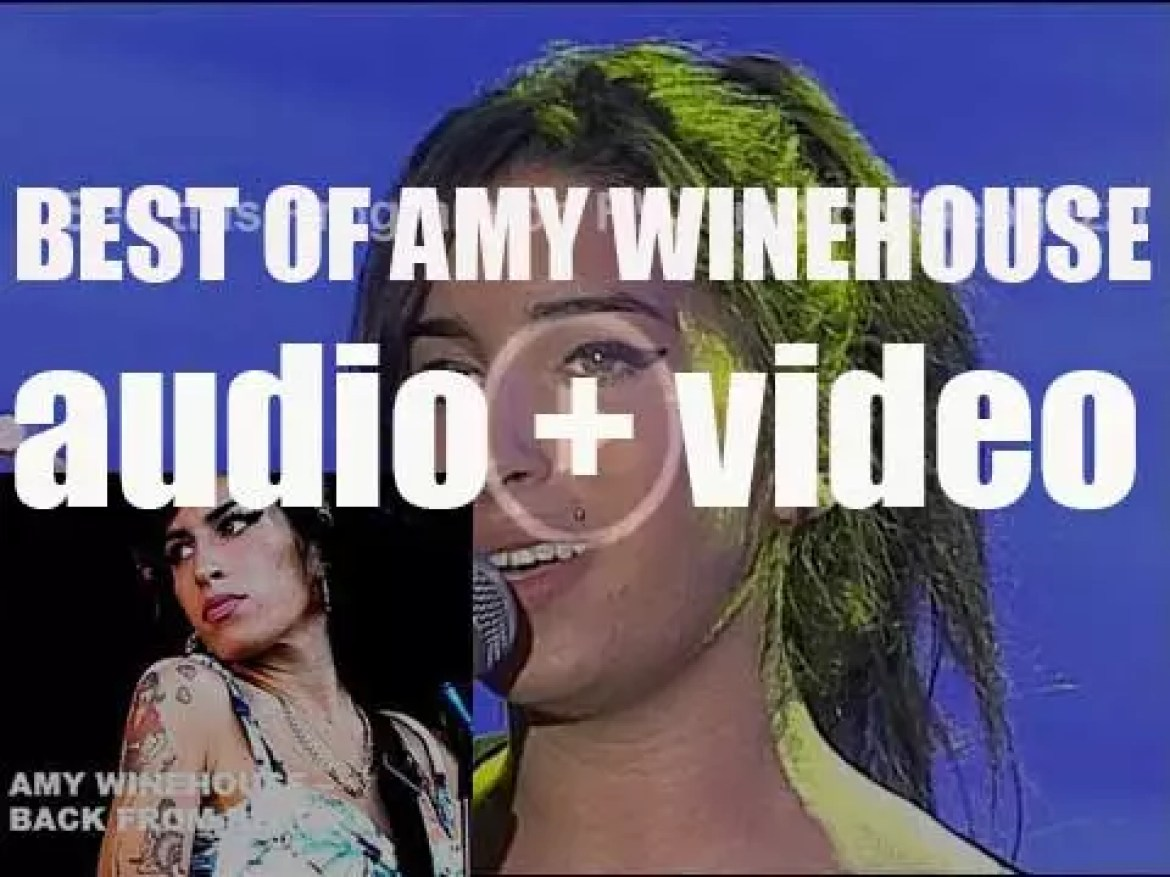 We remember Amy Winehouse. 'Back From Black'
