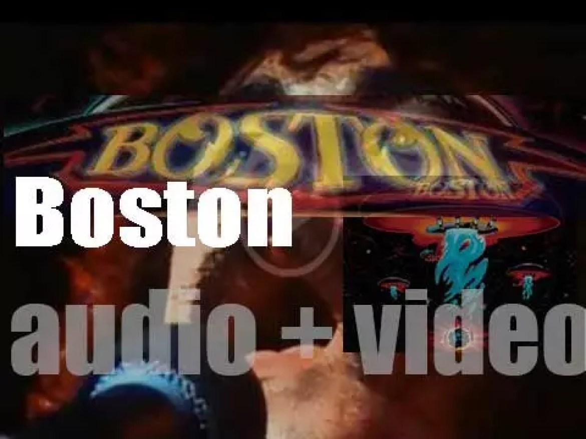 Epic Records publish 'Boston,' their self-titled debut album featuring 'More Than a Feeling' (1976)