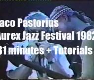 """Jaco Pastorius """"Aurex Jazz Festival 1982"""""""