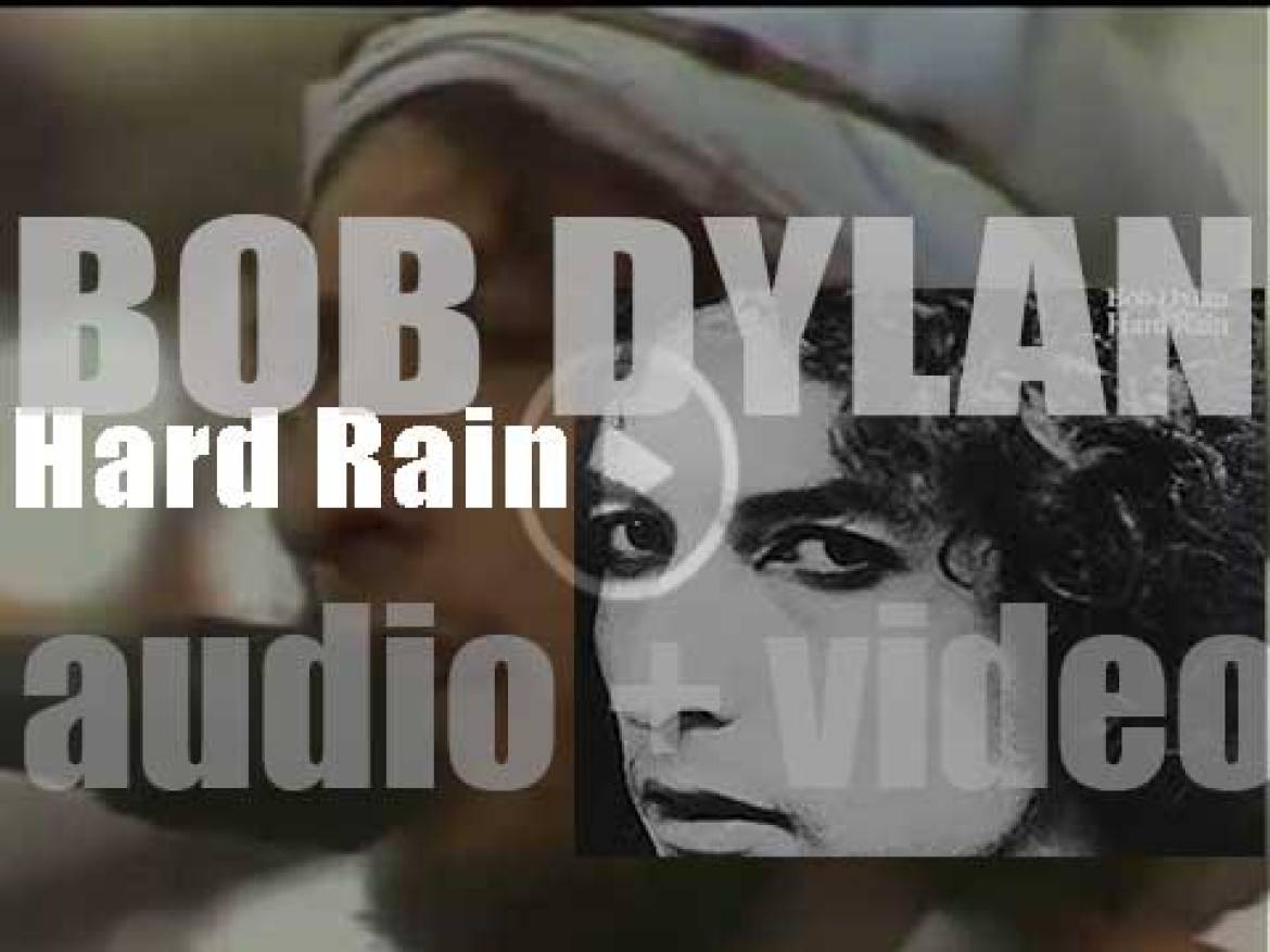Bob Dylan releases 'Hard Rain,' a live album  recorded during the Rolling Thunder Revue Tour (1976)