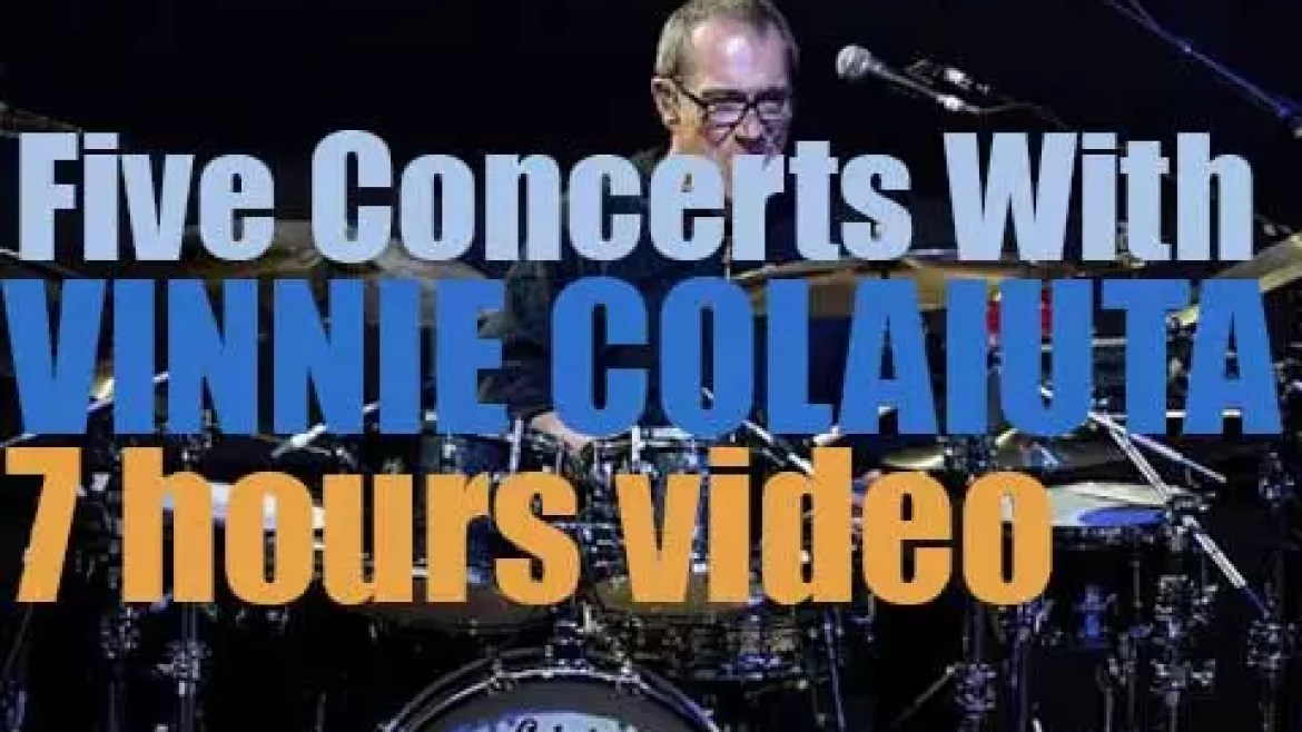 Five Concerts with Vinnie Colaiuta