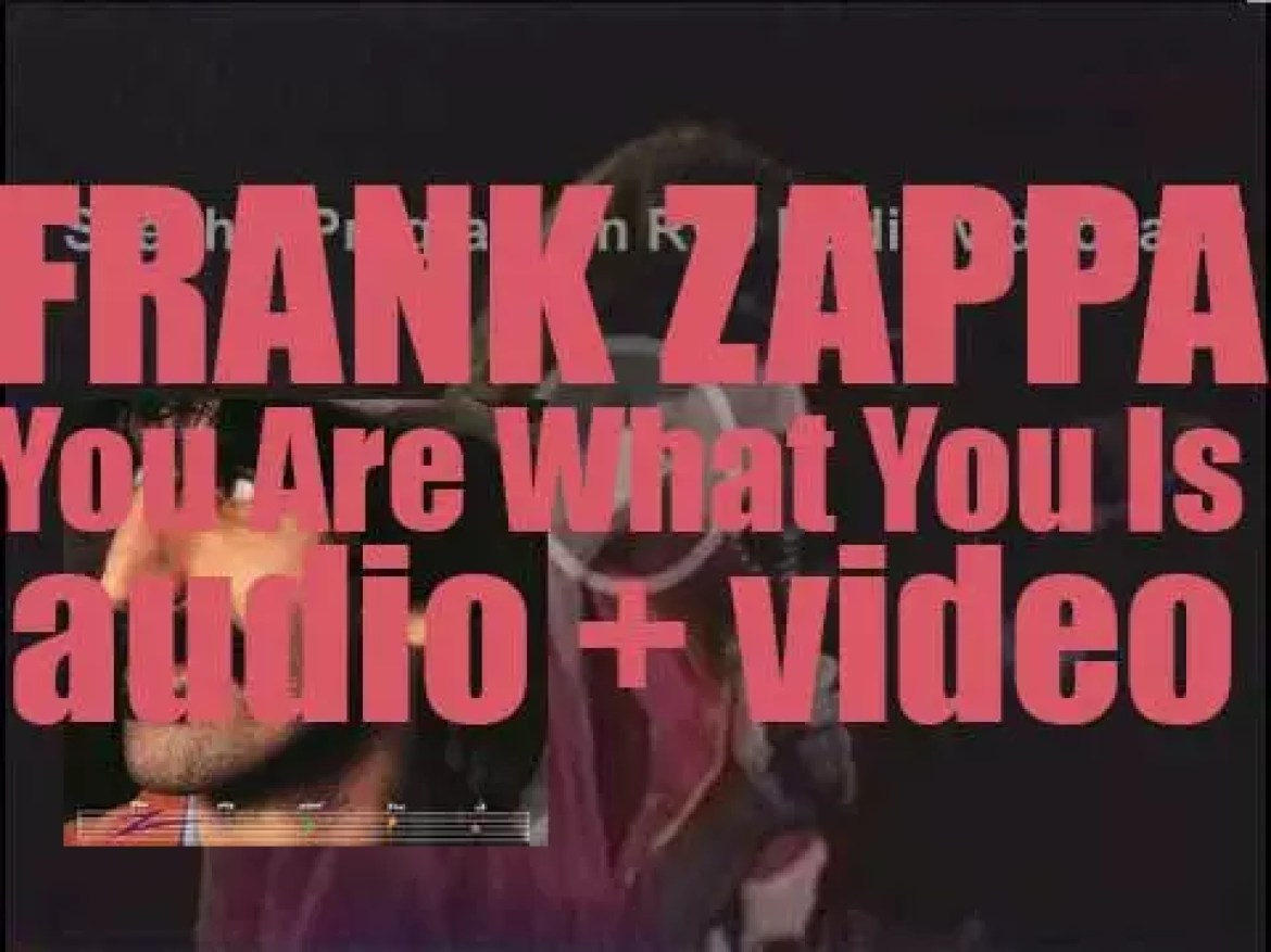 Frank Zappa releases 'You Are What You Is,' a double album (1981)