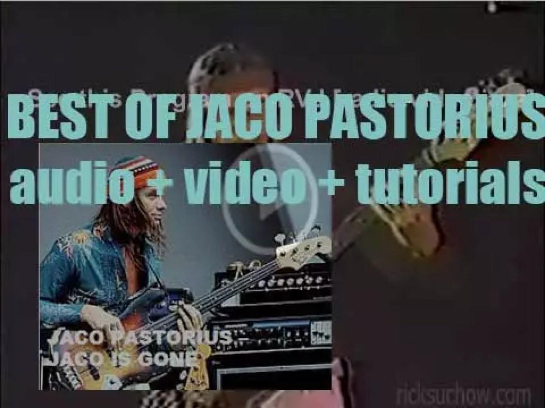 We remember Jaco Pastorius. 'Jaco is Gone'