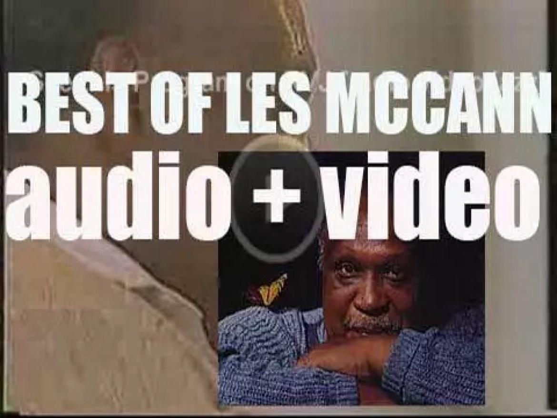 Happy Birthday Les McCann. 'Yes! McCann'