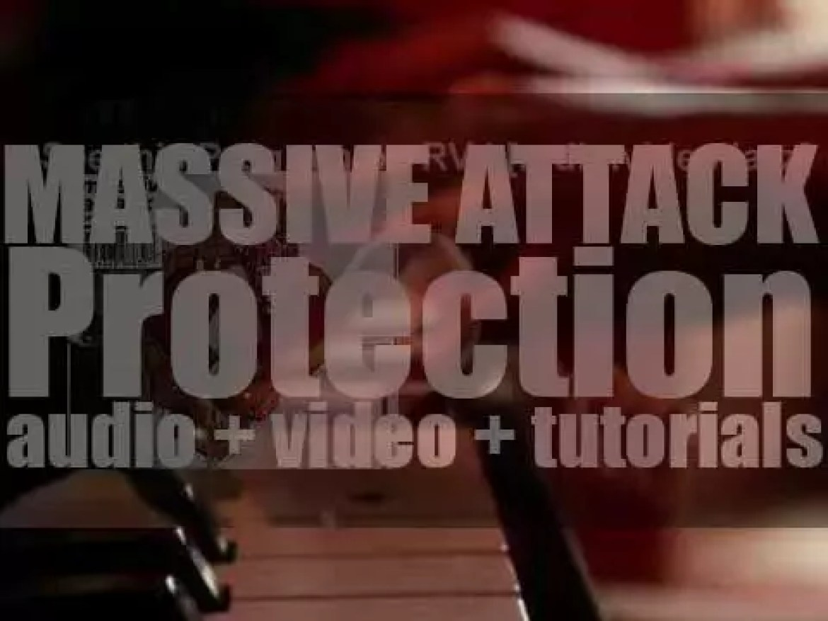Massive Attack release  their second album : 'Protection' featuring 'Karmacoma' (1994)