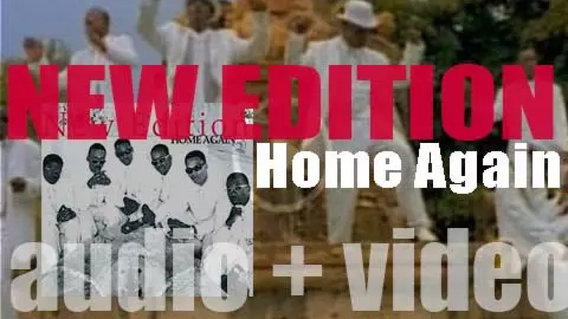 New Edition release their sixth album : 'Home Again' featuring 'Hit Me Off'  and 'I'm Still in Love With You' (1996)