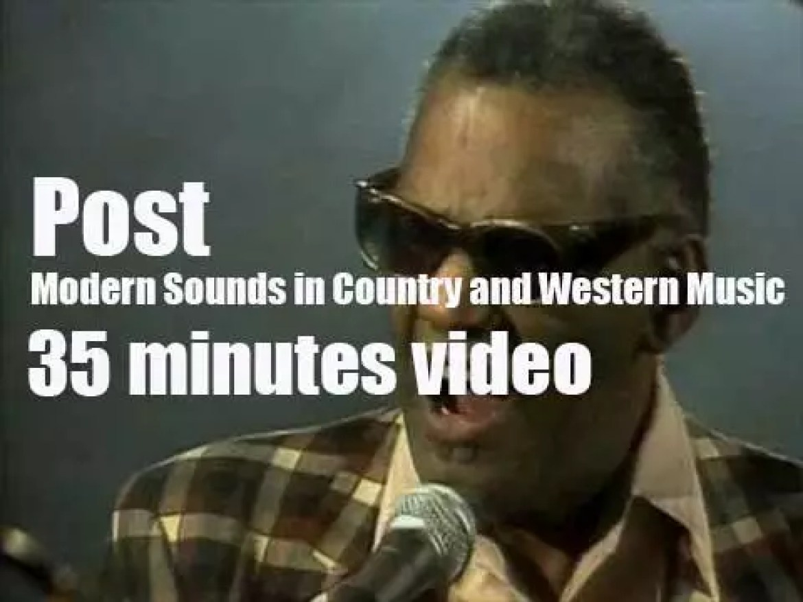 Post Modern Sounds in Country and Western Music