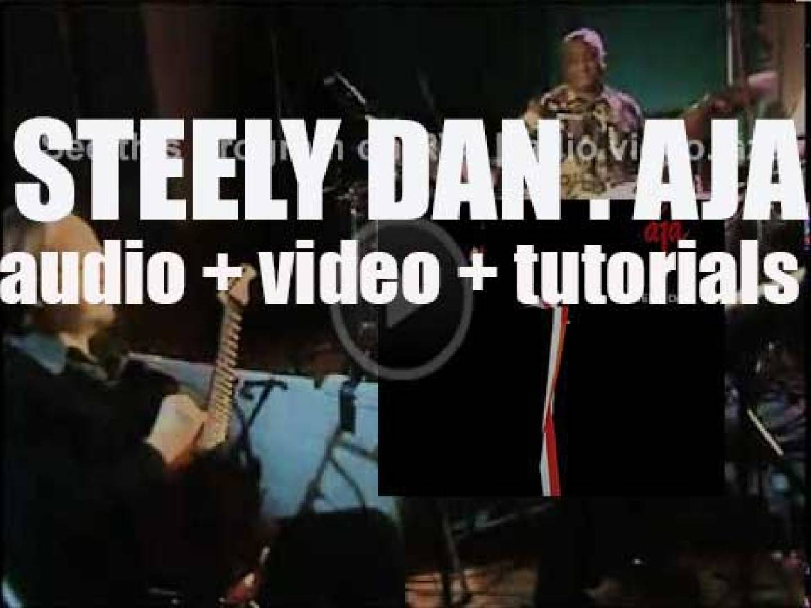Steely Dan release their sixth album : 'Aja' featuring 'Deacon Blues'  and 'Josie' (1977)