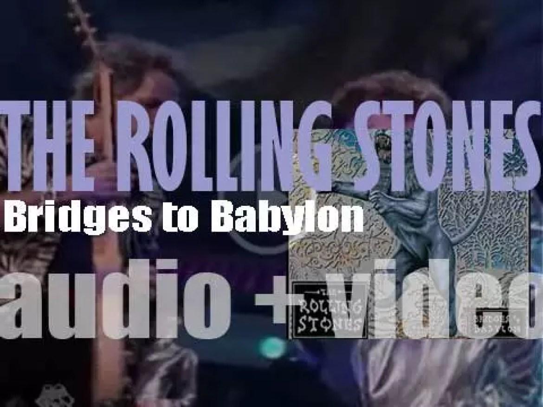 The Rolling Stones release their twenty first album : 'Bridges to Babylon' (1997)