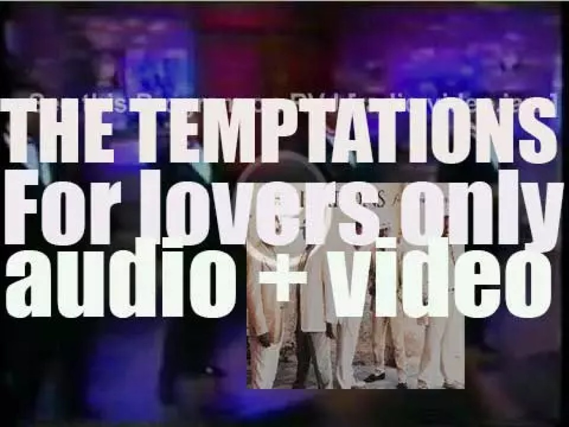 Motown publish The Temptations's 'For Lovers Only,' their final album with Melvin Franklin (1995)