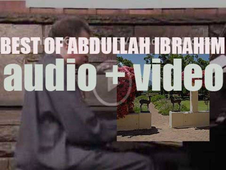 Happy Birthday Abdullah Ibrahim. 'Dr. Ibrahim'