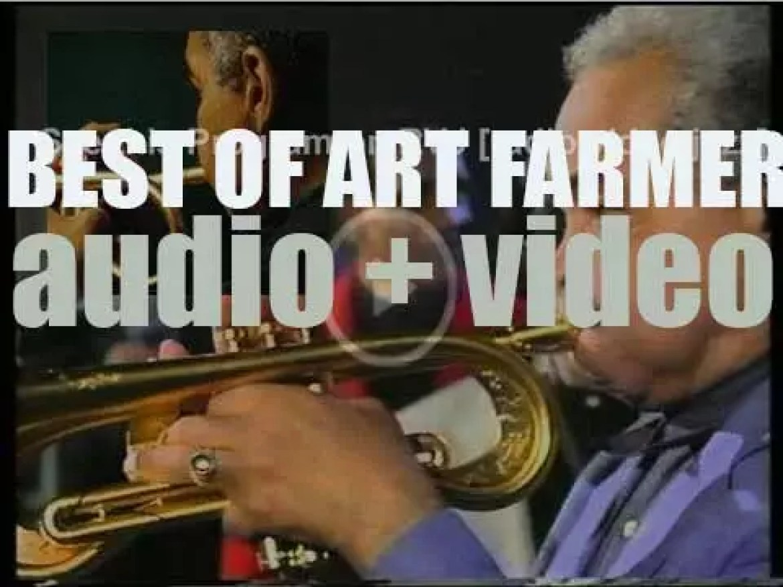 We remember Art Farmer. 'The State of Art'