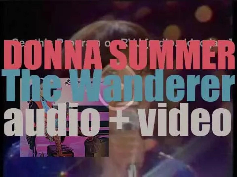 Geffen publish Donna Summer's eight album : 'The Wanderer' (1980)