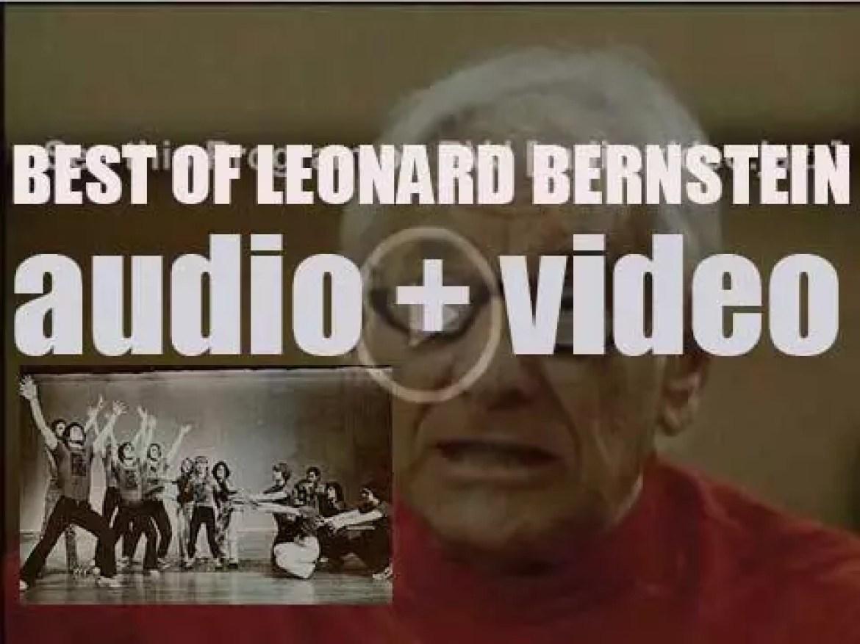 We remember Leonard Bernstein. 'Finale'
