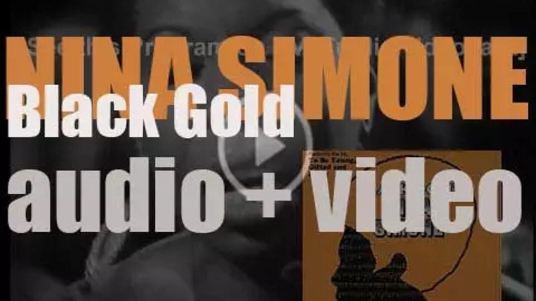Nina Simone records 'Black Gold' live at Philharmonic Hall in New York (1969)