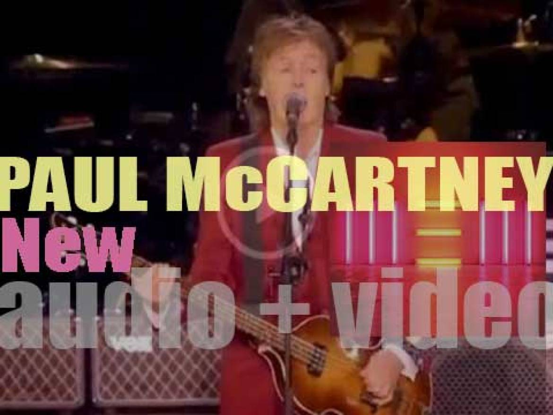 Paul McCartney releases his sixteenth solo album : 'New' (2013)