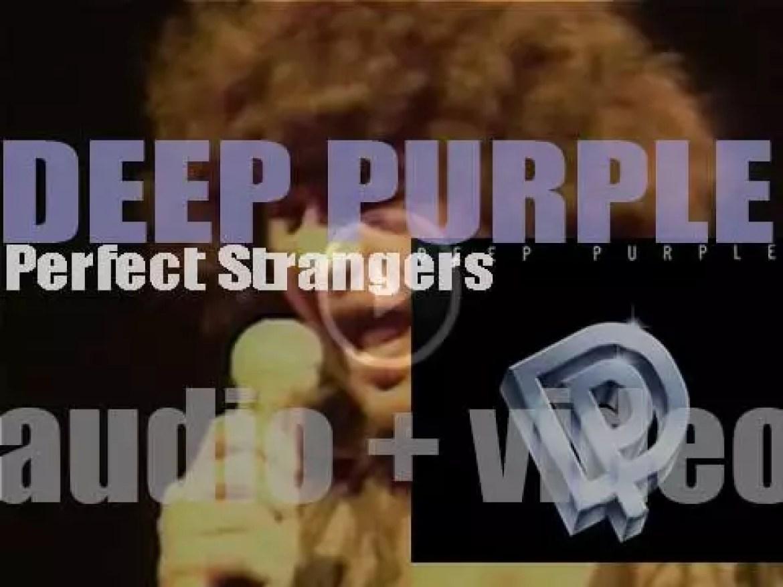 Polydor publish Deep Purple's eleventh album : 'Perfect Strangers' (1984)