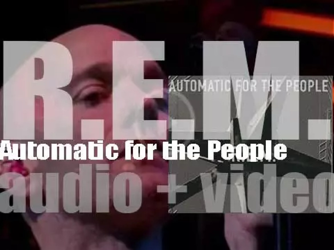 R.E.M. release their eighth album : 'Automatic for the People' featuring 'Drive' and 'Everybody Hurts' (1992)