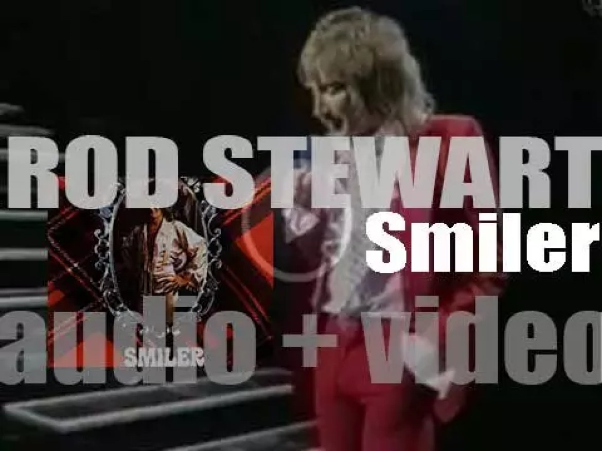 Rod Stewart releases his fifth album : 'Smiler' featuring a duet with Elton John (1974)