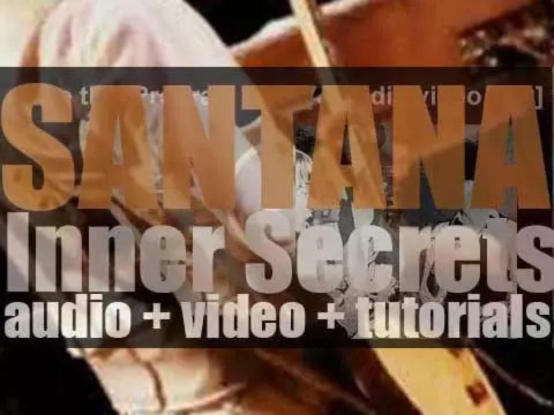 Columbia publish Santana's  'Inner Secrets' their ninth album (1978)