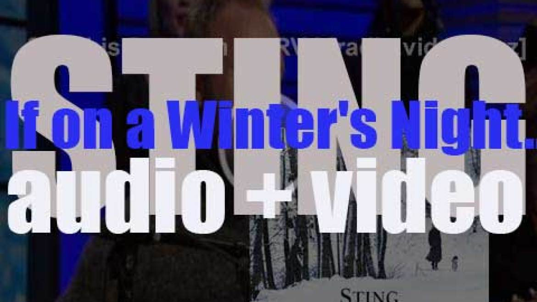 Deutsche Grammophon publish Sting's ninth album : 'If on a Winter's Night…' (2009)
