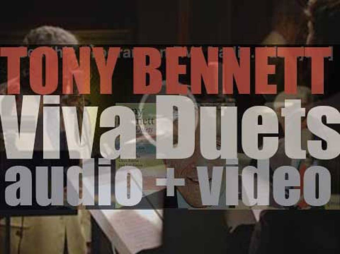 Tony Bennett releases 'Viva Duets' an album recorded with  Marc Anthony, Thalía, Christina Aguilera, Gloria Estefan, Juan Luis Guerra, Vicente Fernández and more Latin American singers (2012)