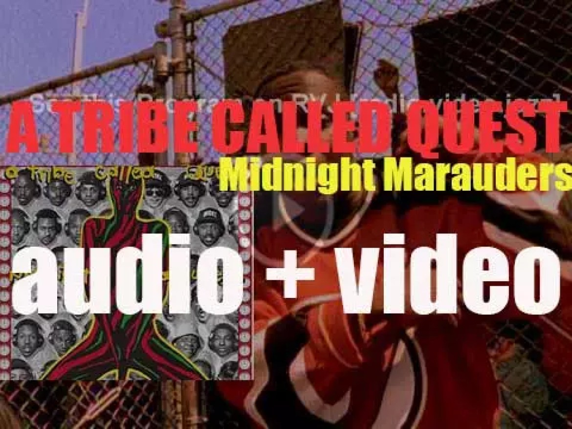 A Tribe Called Quest release 'Midnight Marauders,' their third album featuring 'Award Tour' and 'Electric Relaxation' (1993)