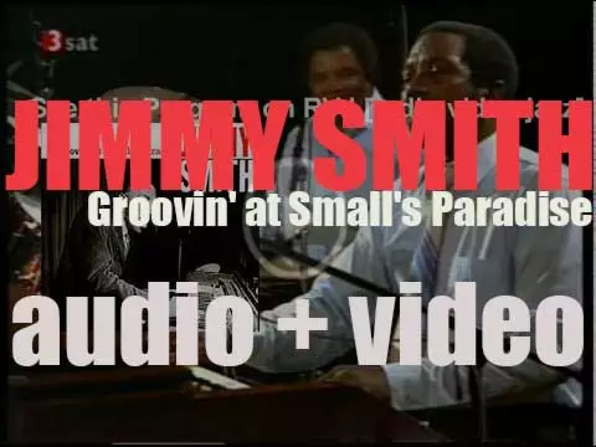 Jimmy Smith records 'Groovin' at Smalls' Paradise,' a live album for Blue Note (1957)