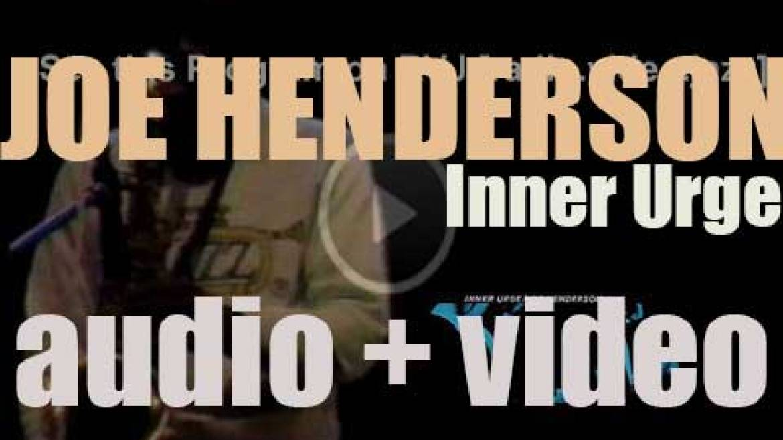 Joe Henderson records 'Inner Urge' for Blue Note with Mccoy Tyner,  Bob Cranshaw and Elvin Jones (1964)