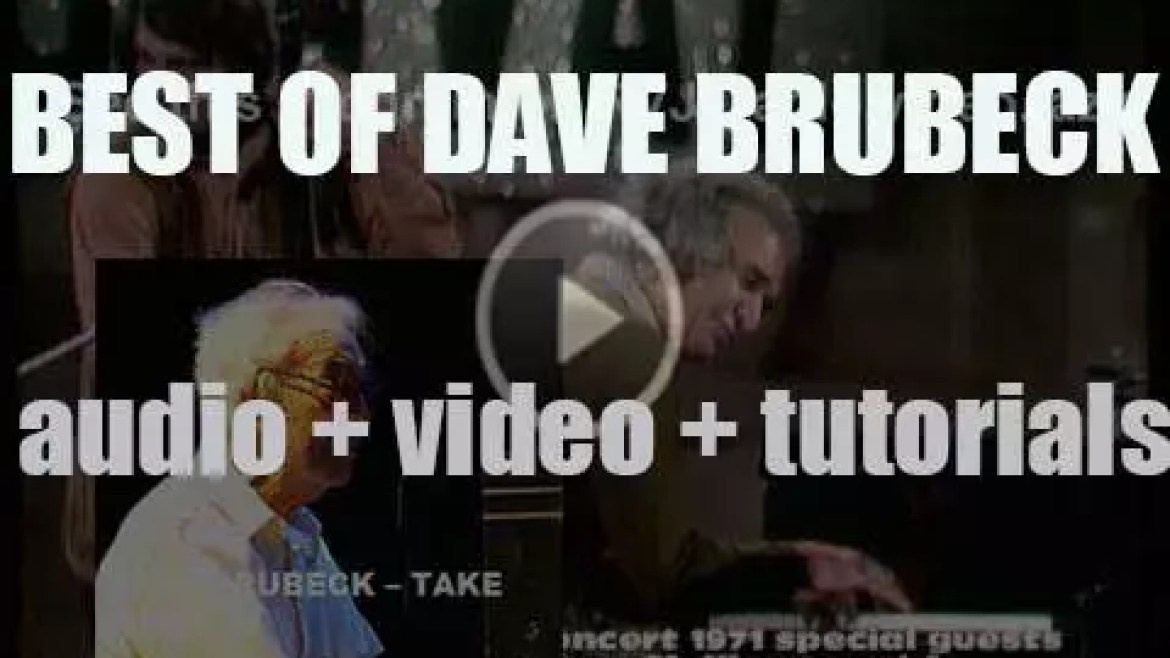 We remember Dave Brubeck. 'Take Final'