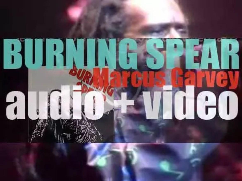Island publish Burning Spear's third album : 'Marcus Garvey' (1975)