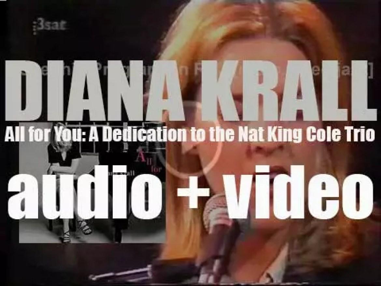 Impulse! publish Diana Krall's third album: 'All for You' (1996)