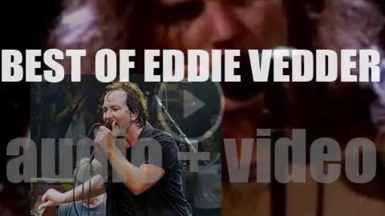 Happy Birthday Eddie Vedder. 'Stormy Vedder'