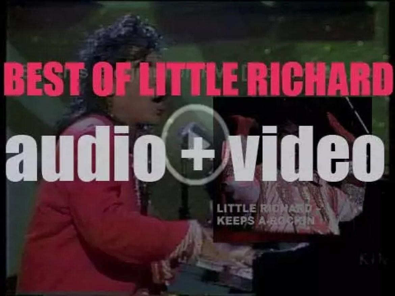 We remember Little Richard. 'Keept A-Rockin'