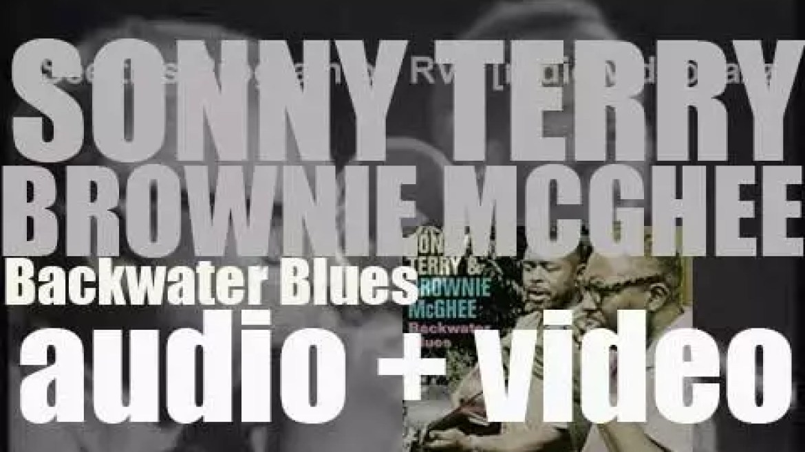 Sonny Terry and Brownie McGhee record, live in San Francisco, the album 'Backwater Blues' (1961)
