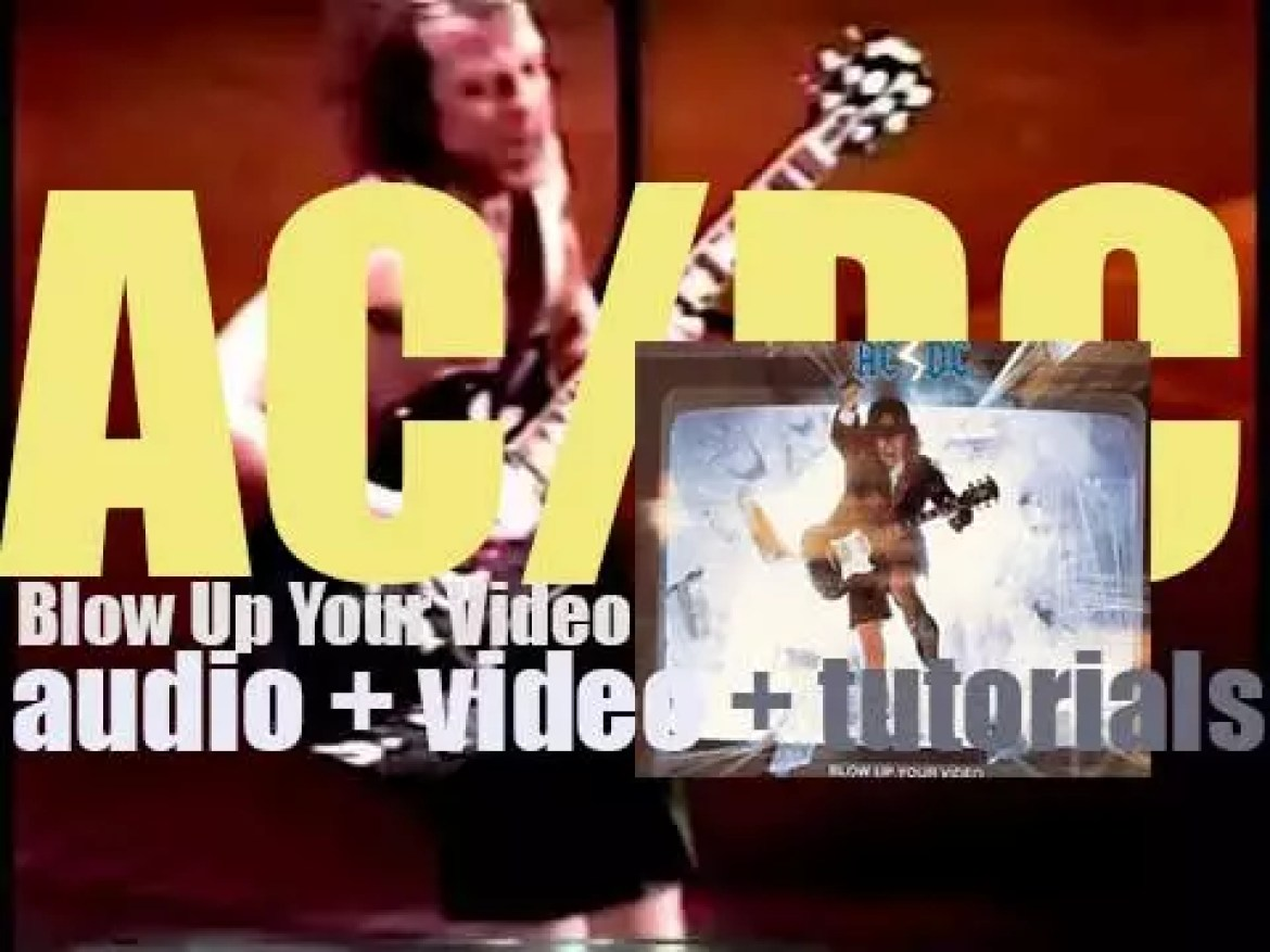 AC/DC release their tenth album : 'Blow Up Your Video' featuring 'Heatseeker' (1987)