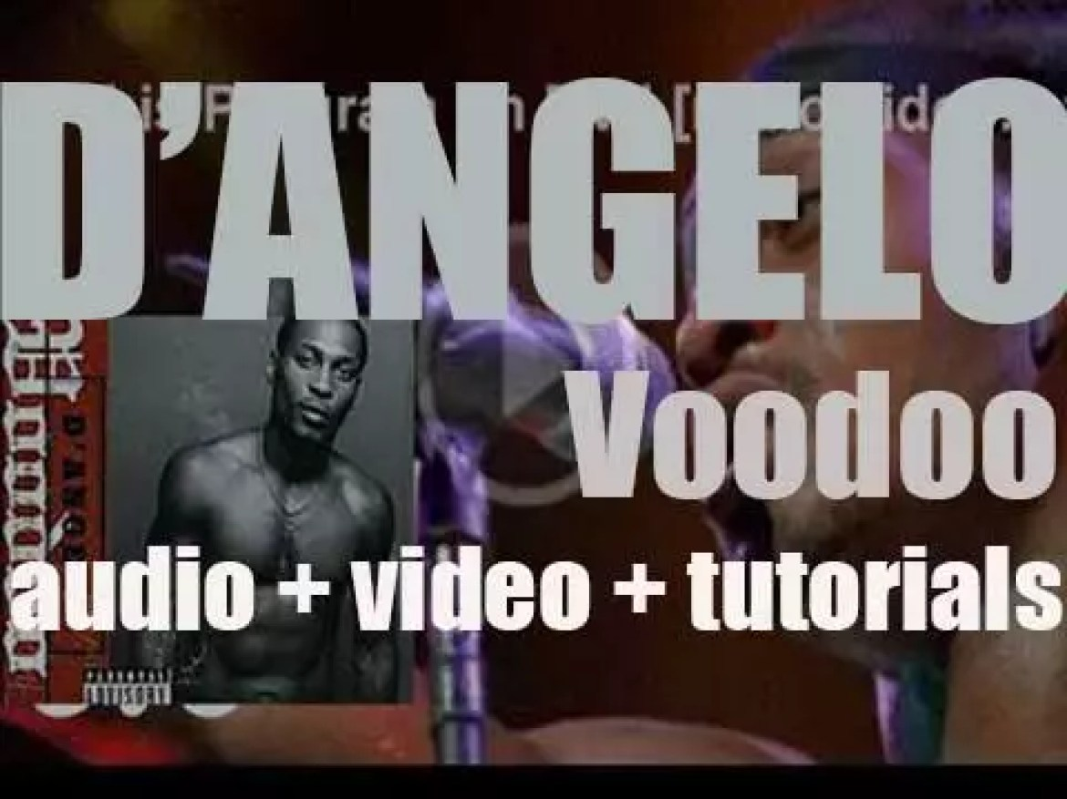 D'Angelo releases his second album : 'Voodoo' featuring 'Untitled (How Does It Feel)' (2000)