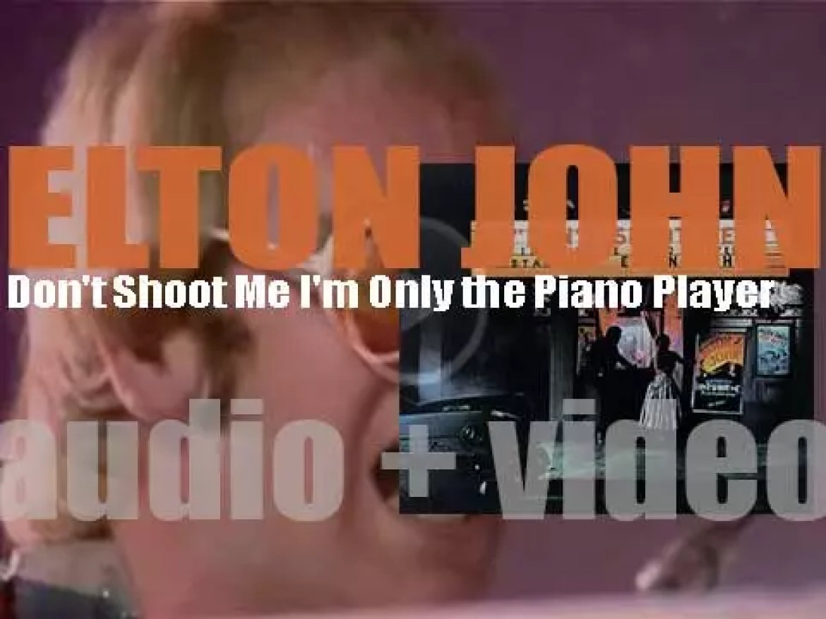 Elton John releases his sixth album : 'Don't Shoot Me I'm Only the Piano Player' featuring 'Crocodile Rock' and 'Daniel' (1973)
