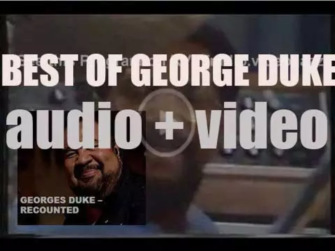 We remember George Duke. 'ReCounted'