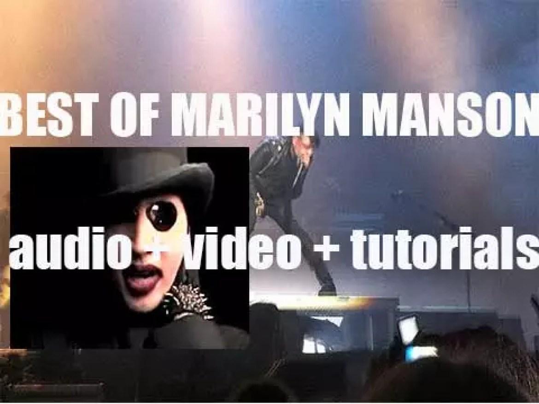 Happy Birthday Marilyn Manson. 'Accomplished'