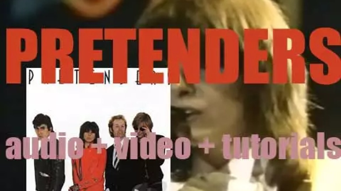 'Pretenders' is their debut eponymous album featuring 'Stop Your Sobbing' and 'Brass in Pocket' (1980)