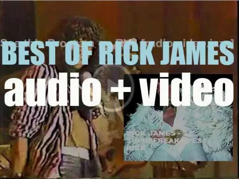 We remember Rick James. 'Le Superfreak, C'est Rick'