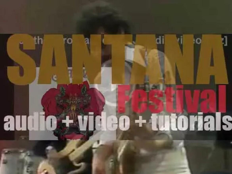 Santana release their eighth album : 'Festival' (1977)